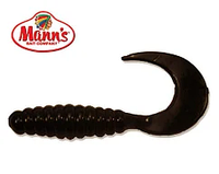 Силиконовая приманка Manns Twister 035 M-035 B черный