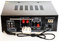 Усилитель звука UKC AV-325BT Караоке Bluetooth, фото 5