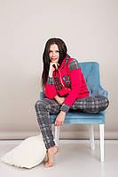 Домашний женский костюм клетка Турция, фото 6