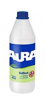 Aura Unigrund Bioblock укрепляющий антиплесневый грунт 1 л