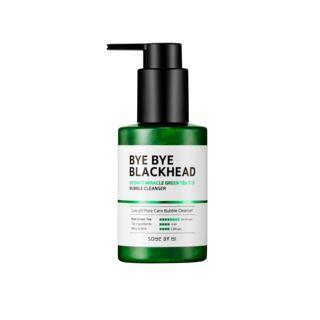 Маска-пенка от чёрных точек SOME BY MI Bye Bye Blackhead 30 Days Miracle Green Tea Tox Bubble Cleanser, 120 мл