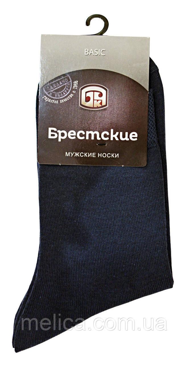 Носки мужские хлопковые Брестские Basic 15С2224, рис.000, р.29, т.серый