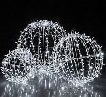 Светодиодная 3D фигура шар Glax 80 см