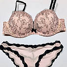 Бюстгальтер Бандо Пуш-ап Victoria's Secret Very Sexy Multi-Way Push-Up 70E, Розовый, фото 2