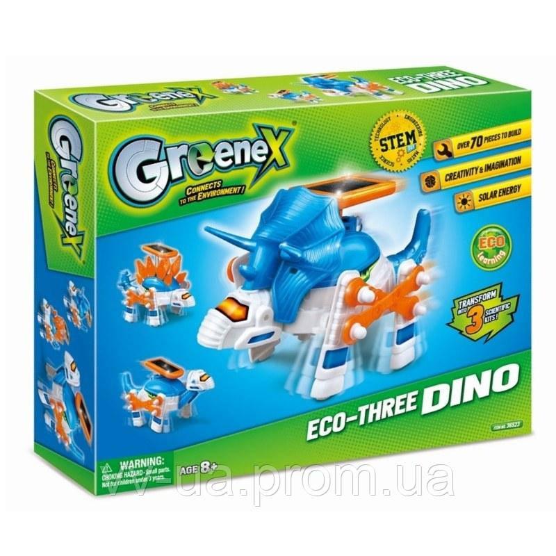 Набор научно-игровой Amazing Greenex Eco-Three Dino (36523A)