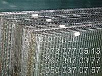 Армированное стекло в порезке 1000ммх1000мм, толщина 6мм
