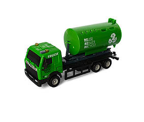 Мусоровоз AS-2282(Green) Зелёный АвтоСвіт, металл