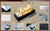 Паливний блок для біокаміна Алаід Style 500 K C2 Gold Fire (AS500-k-c2), фото 7