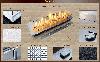 Топливный блок для биокамина Марапи 1000 Gold Fire (marapi-1000), фото 6