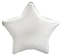 Фольгированный шар 10' Китай Звезда белая, 25 см