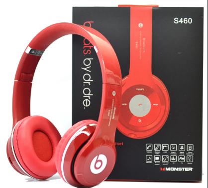 Беспроводные Bluetooth наушники  BTbeats S460 Red