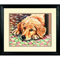 """Картина по номерам """"Устал"""" (Dog Tired)"""