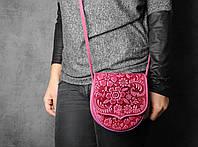 Компактная женская сумка из натуральной кожи, ручная работа, фото 1