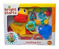 Подарунковий набір брязкалець, Bright Starts Teething Fun Gift Set