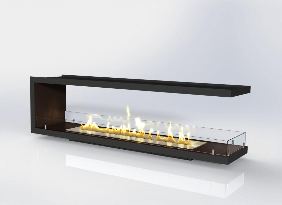 Вбудовуваний біокамін «Вогнище Focus MS-арт.002» Gold Fire (Focus002)