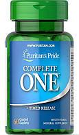 Мультивитаминный комплекс Puritan's Pride - Complete One (60 капсул)