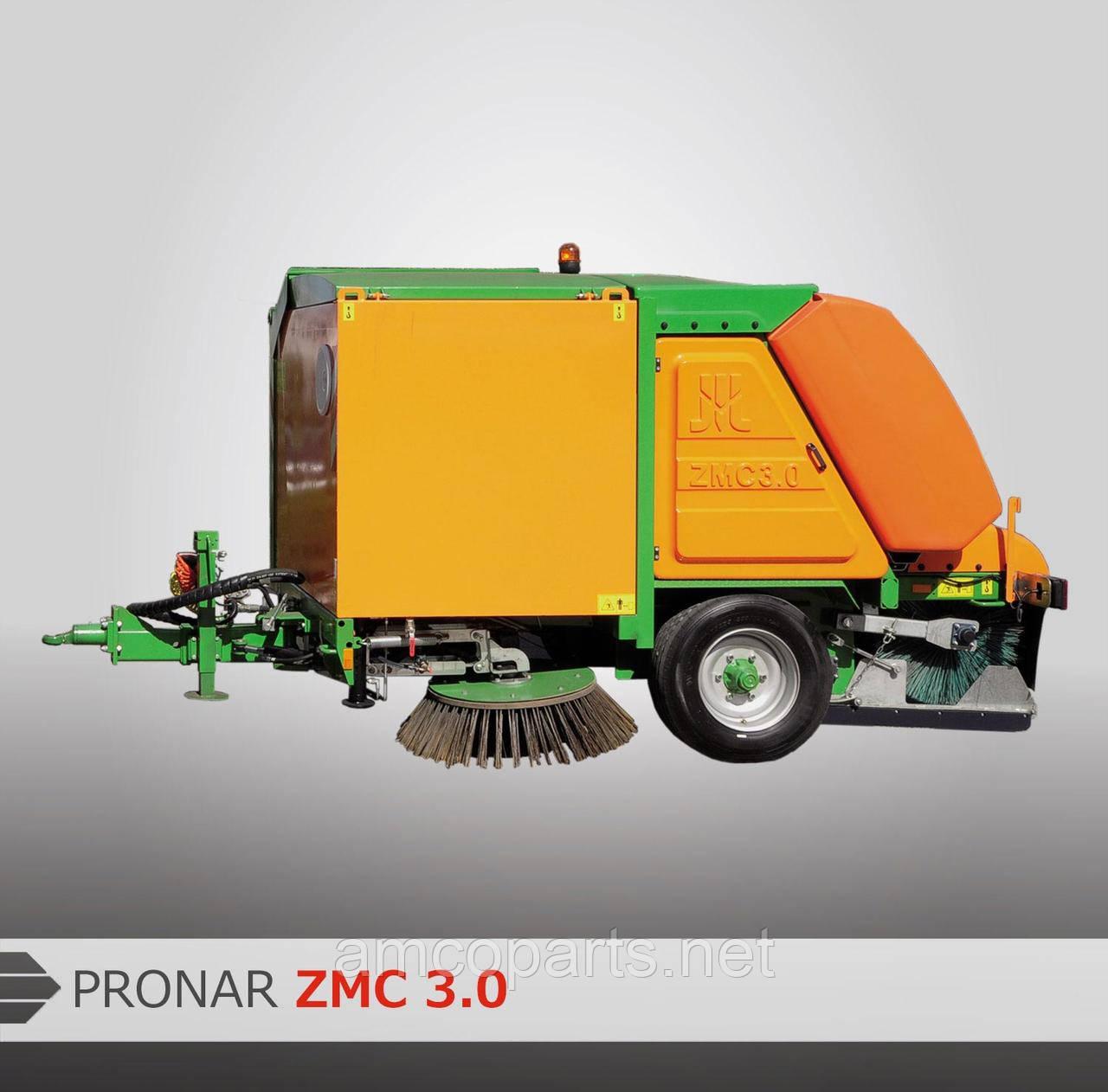 Причіпна вакуумна підмітально-прибиральна машина ZMC 3.0