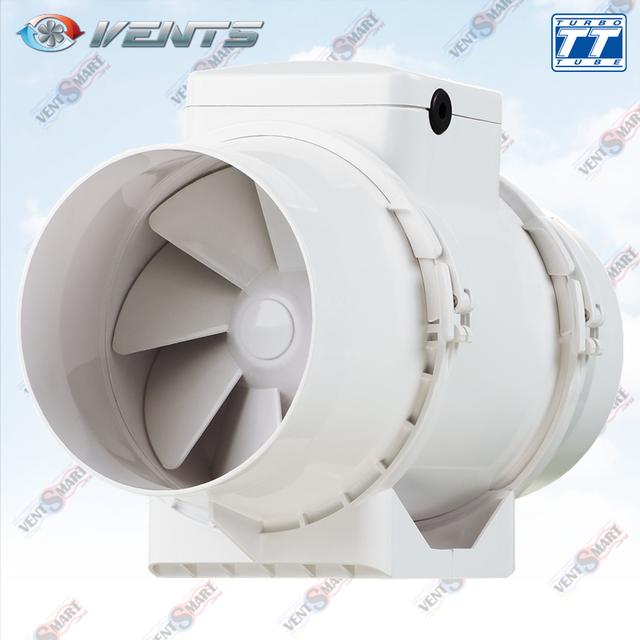 Внешний вид канального вентилятора смешанного типа ВЕНТС ТТ