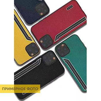 TPU чехол SHENGO Textile series для Samsung Galaxy S10+