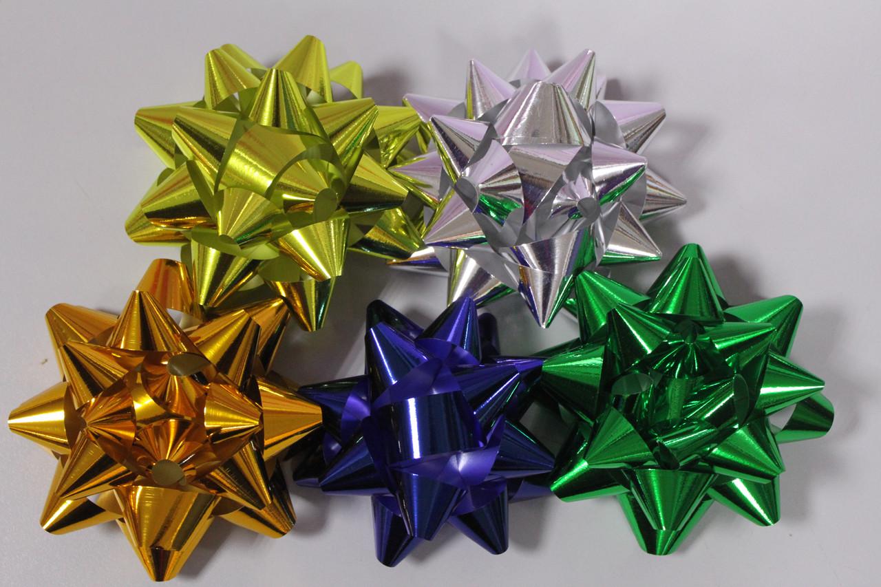 Бантики подарочные 1 шт. для украшения подарков 11.5 см