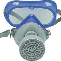 Комплект очки с респиратором STALKER-1 (аналог 3М модель 3200)