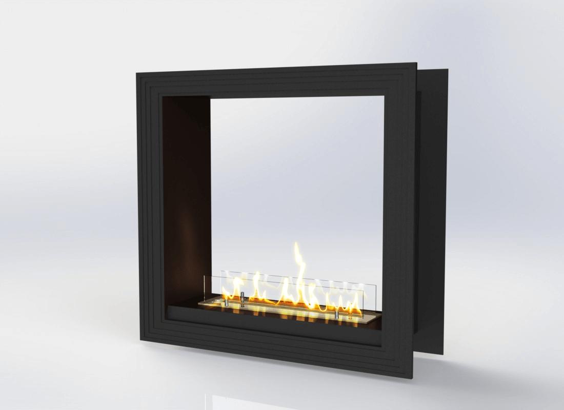 Встраиваемый биокамин «Очаг Focus MS-арт.011» Gold Fire (Focus011-1200)