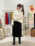 Женский свитер объемной вязки под горло (в расцветках), фото 4