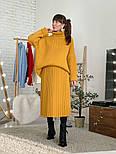 Женский свитер объемной вязки под горло (в расцветках), фото 7