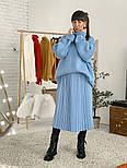 Женский свитер объемной вязки под горло (в расцветках), фото 6