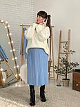 Женский свитер объемной вязки под горло (в расцветках), фото 5