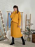 Женский свитер объемной вязки под горло (в расцветках), фото 9
