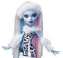 Кукла Monster High Эбби Боминейбл (Abbey Bominable) с мамонтенком базовая Монстр Хай, фото 2