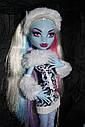 Кукла Monster High Эбби Боминейбл (Abbey Bominable) с мамонтенком базовая Монстр Хай, фото 5