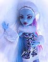 Кукла Monster High Эбби Боминейбл (Abbey Bominable) с мамонтенком базовая Монстр Хай, фото 6