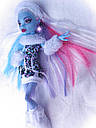 Лялька Monster High Еббі Боминейбл (Abbey Bominable) з мамонтенком базова Монстр Хай, фото 7