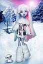 Кукла Monster High Эбби Боминейбл (Abbey Bominable) с мамонтенком базовая Монстр Хай, фото 8