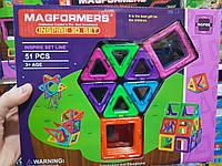 Конструктор 003A магнитный, 51 деталь MAGFORMERS