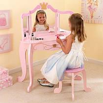 Туалетный столик с стульчиком Принцессы KidKraft 76123