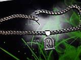 Серебряная цепочка с иконкой Св. Николая, фото 3