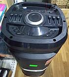 Портативна акустика TS210-05 /250W 2 мікрофона LED підсвічування (USB/FM/Bluetooth/Пульт ДУ), фото 2