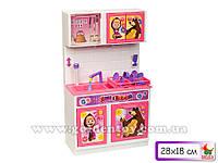 "Мебель для куклы ""Маша и медведь"", кухня-мойка, свет, звук, 23х10х32см"