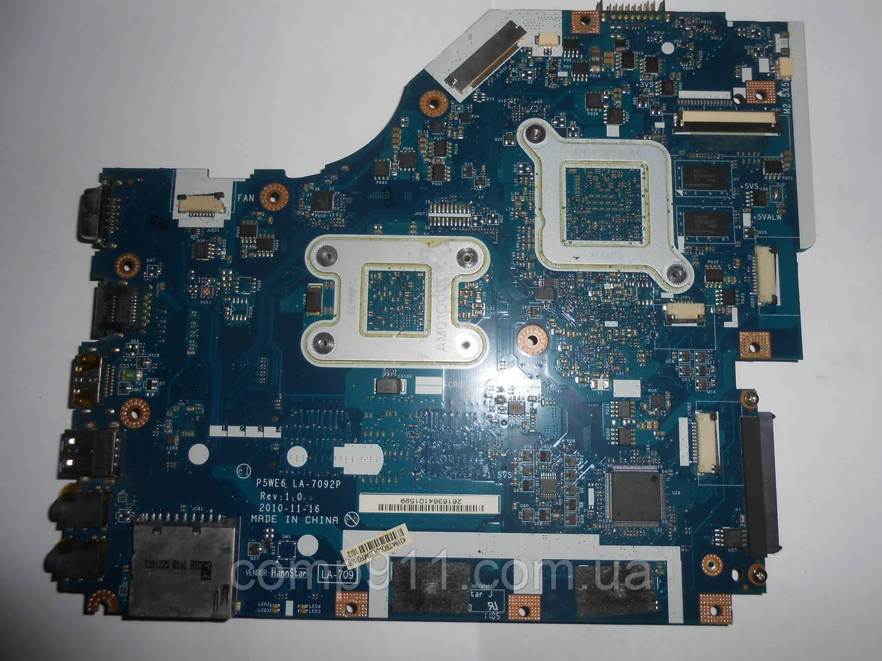 Материнская плата Acer Aspire 5250, 5253, eMachines E443, E644 P5WE6