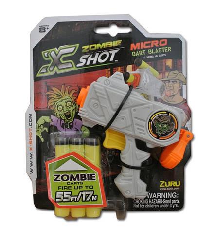 Игрушечное оружие X-Shot Бластер Микро  Охотник на Зомби, фото 2