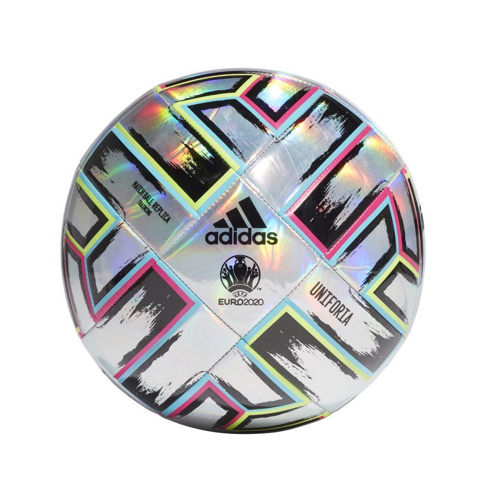 Мяч футбольный Adidas Uniforia Training Ball Euro 2020 №4 FH7353 Серый