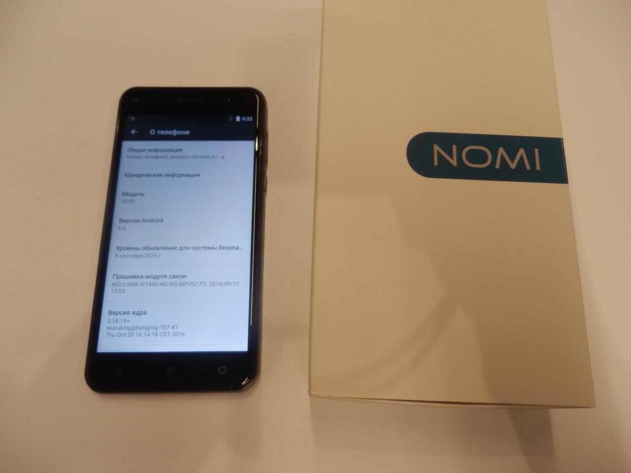 Мобильный телефон Nomi i5030 EVO X 361ВР