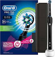 Електрична зубна щітка Braun Oral-B PRO 750 Black  Edition