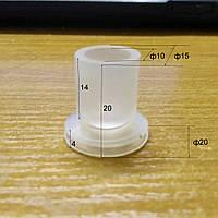 Вакуумная присоска ф20мм для упаковки из силиконовой резины