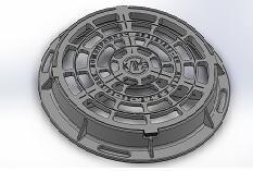 Зливоприймач круглий ДКС (В125) з з/у
