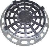 Зливоприймач круглий ДКС (В125) з з/у, фото 2