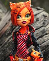 Кукла Monster High Торалей Страйп (Toralei Stripe) с тигренком базовая Монстер Хай Школа монстров